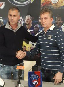 Επίσημη παρουσίαση του νέου προπονητή της Α.Ε ΣΑΠΡΤΗ ΠΑΕ κ. Θεοδοσιάδη