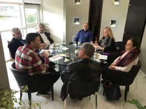 Πραγματοποιήθηκε συνάντηση στο Διοικητήριο Λακωνίας για την ασφάλεια των πολιτών