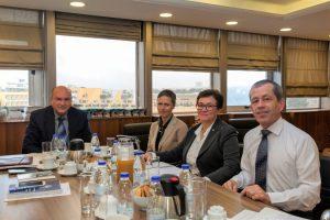 Συνάντηση Γενικού Γραμματέα Συντονισμού Υπουργείου Εσωτερικών Τζανέτου ΦΙΛΙΠΠΑΚΟΥ με την επικεφαλής της Διεθνούς Επιτροπής του Ερυθρού Σταυρού για την Ελλάδα, Sari Nissi