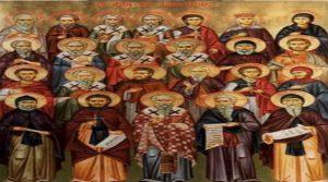 Η εορτή των Λακώνων Αγίων το προσεχές Σαββατοκύριακο στον Ι.Ν Αγίου Νικολάου Σπάρτης.