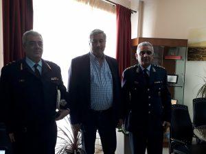 Επίσκεψη του νέου Γενικού Περιφερειακού Αστυνομικού Διευθυντή Πελοποννήσου στο Δήμαρχο Σπάρτης.