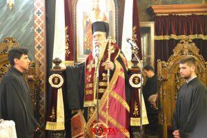 Με λαμπρότητα τελέστηκε ο Πανηγυρικός Εσπερινός του Ευαγγελισμού της Θεοτόκου στην Σπάρτη.