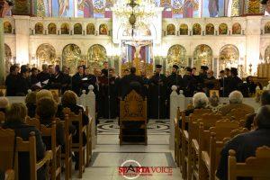 Η Σχολή Βυζαντινής Μουσικής της Ι.Μ. Μονεμβασίας & Σπάρτης , έψαλε τους ύμνους της Μ.Εβδομάδας.