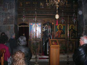 Οι Γορτύνιοι της Σπάρτης στη Μονή της Γόλας για την ακολουθία του Νυμφίου.