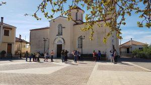 Πρόγραμμα Εορτών Ιερού Ναού Αγίας Τριάδος στη Σελλασία για την Πεντηκοστή και του Αγίου Πνεύματος.