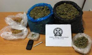 Συνελήφθη ένα άτομο για ναρκωτικά στη Μεσσηνία.