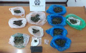 Συνελήφθη 39χρονος για ναρκωτικά στη Μεσσηνία.