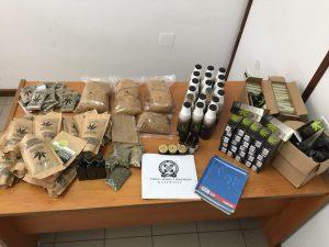 Συνελήφθησαν δύο άτομα για ναρκωτικά στη Μεσσηνία.