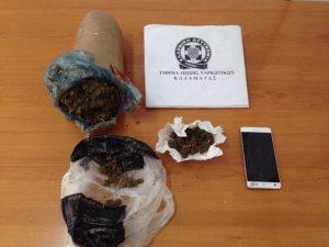 Συνελήφθη 27χρονος για ναρκωτικά στη Μεσσηνία.