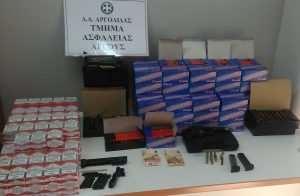 Συνελήφθησαν δύο άτομα για κροτίδες στην Αργολίδα.
