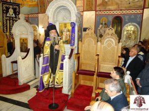 Το Τροπάριο της Κασσιανής  έψαλε η Εκκλησιαστική Χορωδία του Μουσικού Ομίλου Σπάρτης στον Ι.Ν Οσίου Νίκωνος.