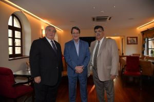 Στο Μυστρά ο Πρόεδρος της Κυπριακής Δημοκρατίας & ο Αρχιεπίσκοπος Αμερικής.