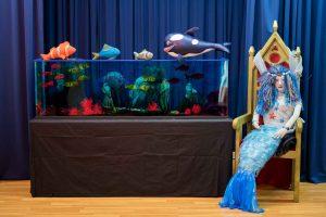 «Η φάλαινα που ήθελε να αδυνατίσει» παράσταση κουκλοθέατρου στο Μουσείο Ελιάς και Ελληνικού Λαδιού