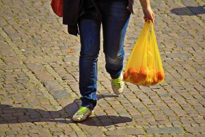 Δήλωση απόδοσης του περιβαλλοντικού τέλους της πλαστικής σακούλας.