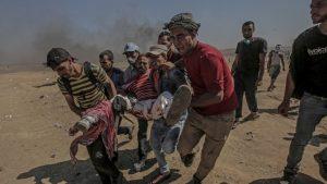 Έντονες αντιδράσεις για την αιματοχυσία στην Γάζα.