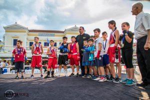 Το 1ο Πανελλήνιο κύπελλο ΠυγμαχίαςBoxing Cup στη Σπάρτη – φωτογραφίες.