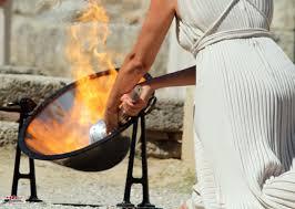 Σαν σήμερα 20 Ιουλίου -γίνεται η πρώτη τελετή αφής της Ολυμπιακής Φλόγαςστην Αρχαία Ολυμπία