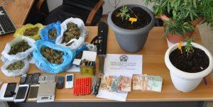 Συνελήφθησαν έξι άτομα για διακίνηση ναρκωτικών ουσιών σε περιοχές της Αργολίδας, της Αρκαδίας και της Αττικής