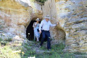 Ο Βραβευμένος με NOBEL Αστροφυσικός George Smoot επισκέφθηκε την Αρχαία Πελλάνα.
