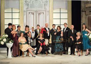"""Η θεατρική παράσταση """"Μαντάμ Σουσού"""" στο Σαϊνοπούλειο αμφιθέατρο Σπάρτης."""
