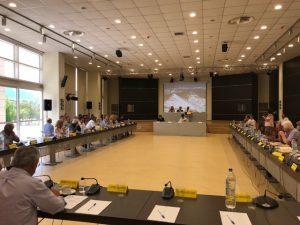 Έγκριση σημαντικών θεμάτων για τη Λακωνία άνω των 6.000.000,00€ , κατά την συνεδρίαση του Περιφερειακού Συμβουλίου Πελοποννήσου στην Σπάρτη.