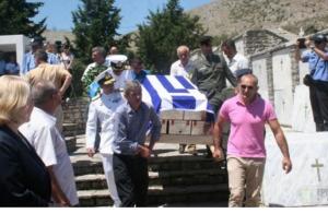 Ενταφιάστηκαν οστά 100 πεσόντων Ελλήνων του ελληνοϊταλικού πολέμου του 1940-41 στο αλβανικό έδαφος