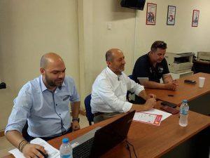 Πραγματοποιήθηκε η ενημερωτική εκδήλωση που οργάνωσε το Επιμελητήριο Λακωνίας και η Διαχειριστική Ευρωπαϊκών Προγραμμάτων, για τη παρουσίαση των δράσεων «Ψηφιακό Βήμα», «Ψηφιακό Άλμα» και «Ποιοτικός εκσυγχρονισμός».