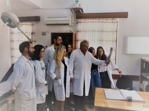 Απόβαση Φοιτητών Ιατρικής στο Κέντρο Υγείας Αρεόπολης