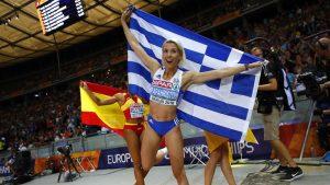 Πρωταθλήτρια Ευρώπης η Παπαχρήστου.