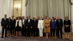 Ορκίστηκαν τα νέα μέλη της Κυβέρνησης.