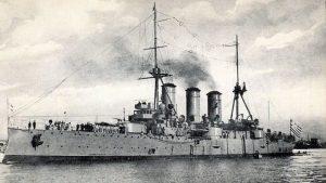 """Σαν σήμερα 1 Σεπτεμβρίου – το Θωρηκτό """"Γεώργιος Αβέρωφ"""" μπαίνει στην υπηρεσία του Ελληνικού Πολεμικού Ναυτικού"""