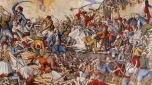 Σαν σήμερα 25 Οκτωβρίου – αρχίζει η πρώτη πολιορκία του Μεσολογγίου από τους Ομέρ Βρυώνη και Κιουταχή