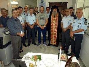 Ποιμαντική επίσκεψη του Πανοσιολογιότατου Αρχιμανδρίτη Νεκτάριου Κιούλου, Προϊσταμένου της Θρησκευτικής Υπηρεσίας της ΕΛΛΑΣ, στις Διευθ. Αστυνομίας Λακωνίας και Μεσσηνίας