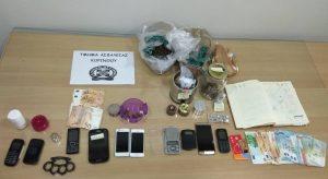 Εξαρθρώθηκε εγκληματική οργάνωση  σημαντικών ποσοτήτων ναρκωτικών ουσιών .