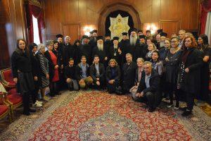 Οικουμενικός Πατριάρχης: Θα επιλύσουμε το Ουκρανικό ζήτημα κατά την κανονική τάξη και επ' αγαθώ του ουκρανικού λαού