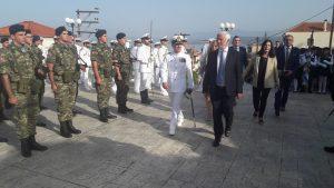 Τον Περιφερειάρχη Πελοποννήσου κ. Πέτρο Τατούλη τίμησε ο Αρχηγός του Στόλου κ. Ιωάννης Παυλόπουλος