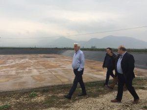 Περιφερειάρχης Πελοποννήσου «Αρδεύονται άμεσα μεγάλες εκτάσεις σε Κουτσοπόδι και Μυκήνες»