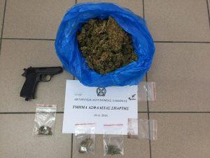 Συνελήφθησαν δύο άτομα για ναρκωτικά στη Λακωνία