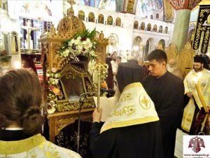 Εσπερινός & ενθρόνιση της Ιερής Εικόνας του Οσίου Νίκωνος Πολιούχου Λακεδαίμονος