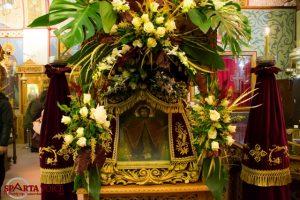 Λαμπρός ο εορτασμός του Οσίου Νίκωνος στη Σπάρτη