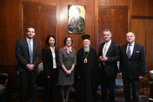 Επίσκεψη του Πρέσβη του Βελγίου στην Άγκυρα,  κ. Michel Malherbe  στο Οικουμενικό Πατριαρχείο