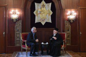Ο Υπ. Παιδείας στο Οικουμενικό Πατριαρχείο