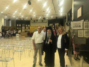 Επίσκεψη Σεβασμιωτάτου Μητροπολίτη Μονεμβασίας & Σπάρτης κ.κ. Ευστάθιου στην έκθεση Ιστορικών Κειμηλίων στο Διοικητήριο της Περιφερειακής Ενότητας Λακωνίας.