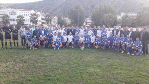 Φιλικός ποδοσφαιρικός αγώνας παλαιμάχων Περιφέρειας Πελοποννήσου και Γκουτσού Καρτάλ από Κωνσταντινούπολη