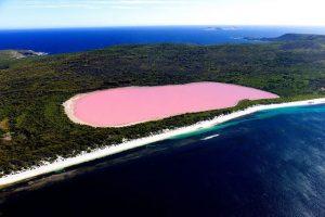 Το ξέρατε ότι : υπάρχει ροζ λίμνη & ένα βουνό χωρίς κορυφή;