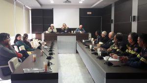 Σύσκεψη στο Διοικητήριο Π.Ε Λακωνίας για την πρόληψη καιρικών φαινομένων-κινδύνων