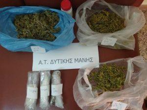 Μεσσηνία: σύλληψη 52χρονου για ναρκωτικά