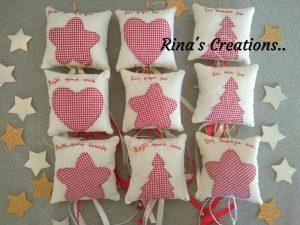 Ευχές Χριστουγέννων από το Rina's creations