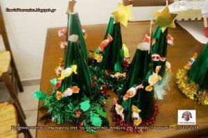 Χριστουγεννιάτικες δημιουργίες από τα παιδιά των κατηχητικών συνάξεων της Ενορίας Τσεραμιού