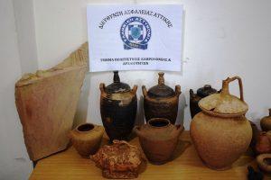 Λακωνία. 46χρόνος συνελήφθη για μεγάλο θησαυρό αρχαίων